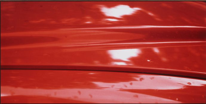 Red, 1976/2012 From New Colour Studies Colour photograph laminated to Dibond Framed size 128.7 x 253.7 cm Edition of 2 plus 1 artist's proof © Jan Dibbets. Courtesy the artist and Alan Cristea Gallery