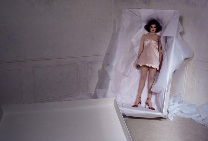 Nicole Meller by Guy Bourdin (1978)