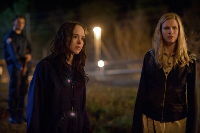 Ellen Page as IZZY and Brit Marling as SARAH
