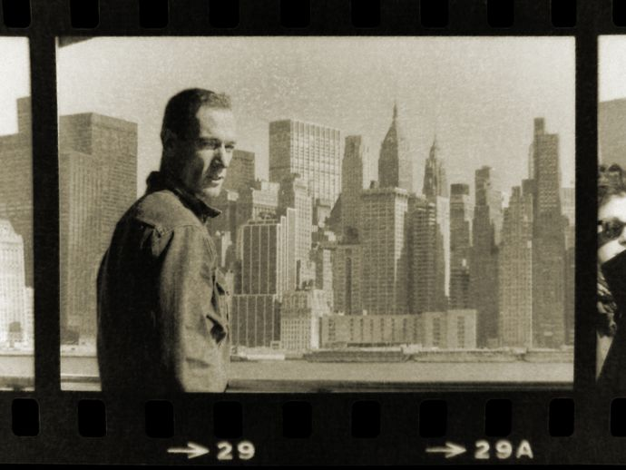 Image of Ray Petri in New York. Courtesy of Barry Kamen
