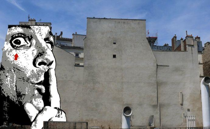 Chuuuttt by Jef Aerosol Place Igor Stravinsky