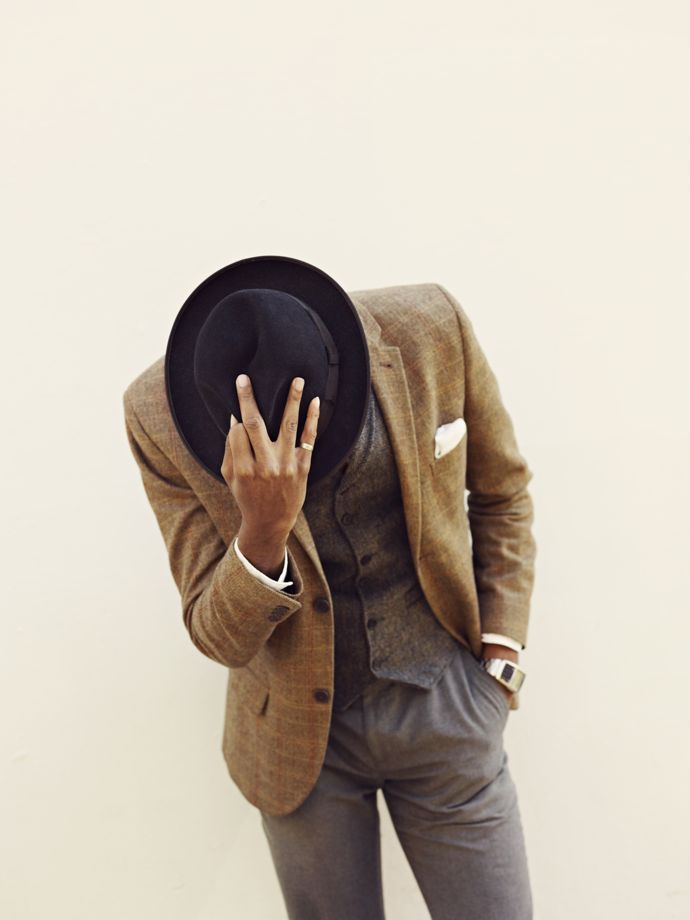 La Touche aka Mr Hat @ Dean Chalkley. Creative direction by Harris Elliott