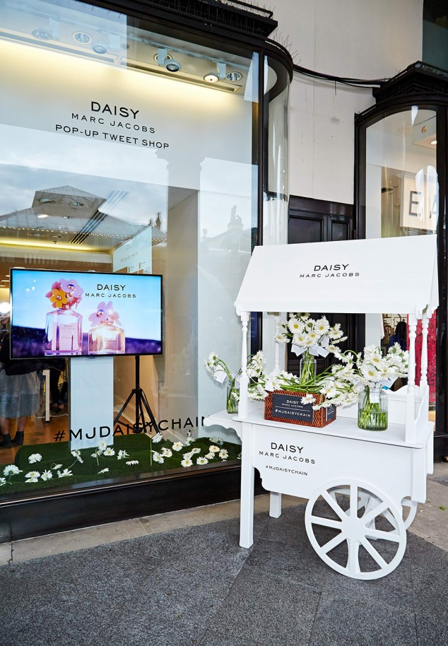 at the Daisy Marc Jacobs Tweet Shop London