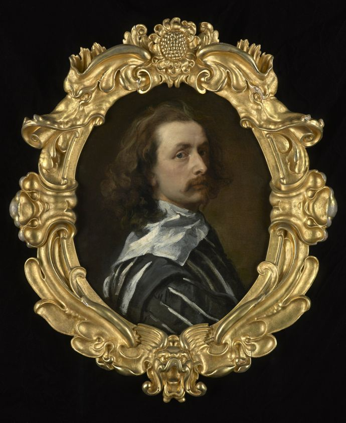 Self-portrait by Sir Anthony Van Dyck, 1640-1 © Philip Mould & Co