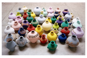 ATHUMBBBAi Weiwei. Colored Vases, 2006