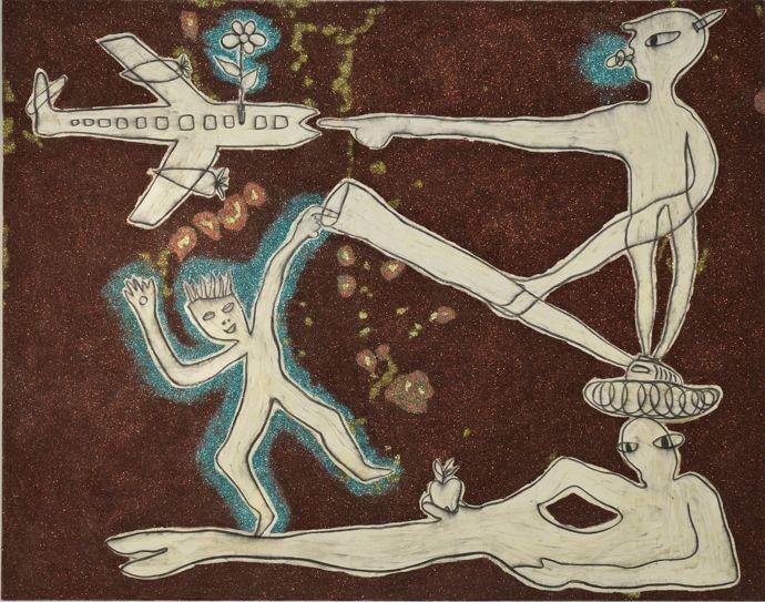 Nadim Karam Absurd Moments, 2012 Image © Nadim Karam and Ayyam Gallery