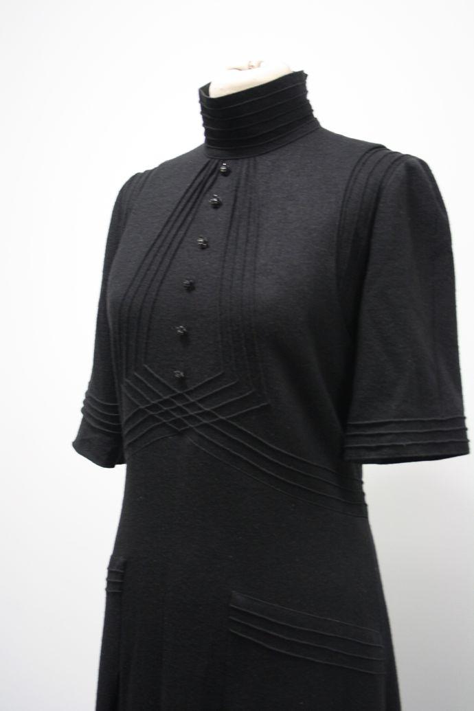 OCT3Classic Chanel black dress