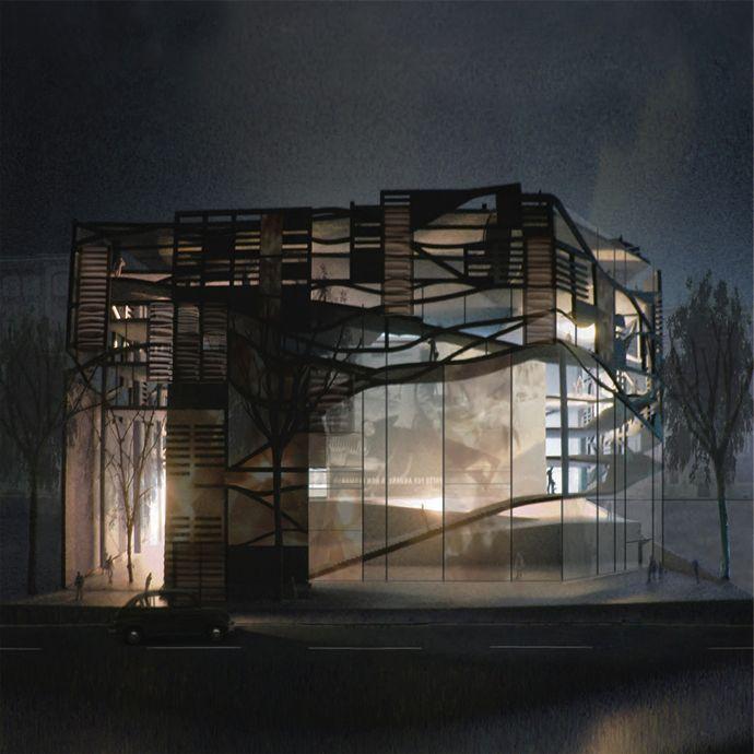 Interior Architecture ©Jonathan Harker
