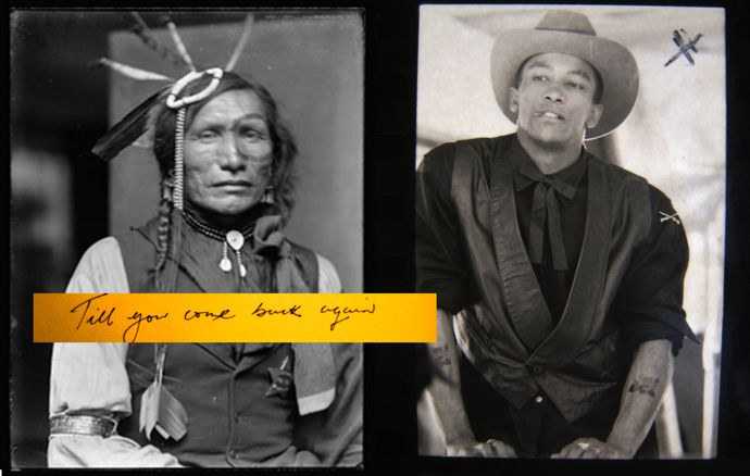 Images courtesy of Barry Kamen, right hand image, Tony Felix styled by Ray Petri