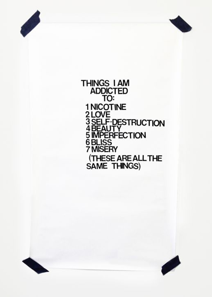 Things I Am Addicted To ©Kristin Prim