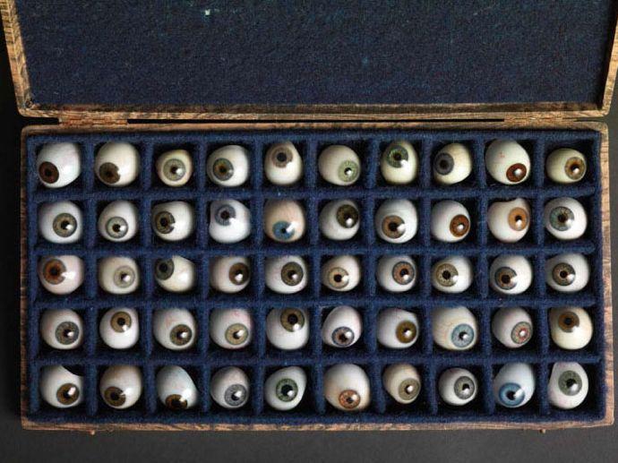 50 Glass Eyes, 1811-88 Collection of Hiroshi Sugimoto