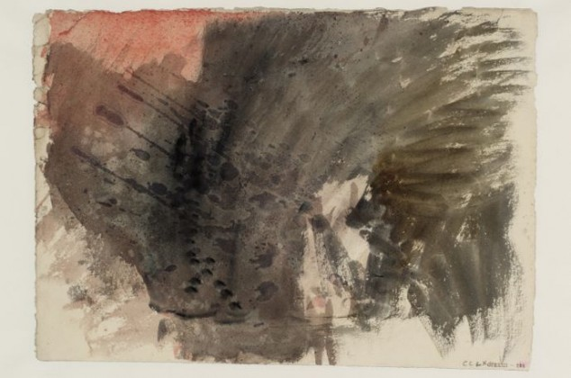 JMW Turner Study for Rokeby (1822) Watercolour on paper ©Tate, London 2014