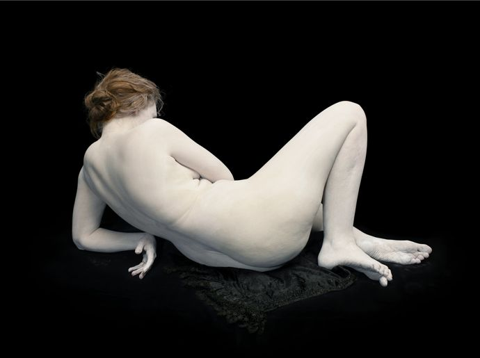 Audrey with toes and wrist bent, 2011 ©Nadav Kander, courtesy Flowers Gallery, London