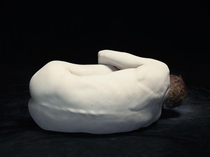 Michael curled away, 2012 ©Nadav Kander, courtesy Flowers Gallery, London